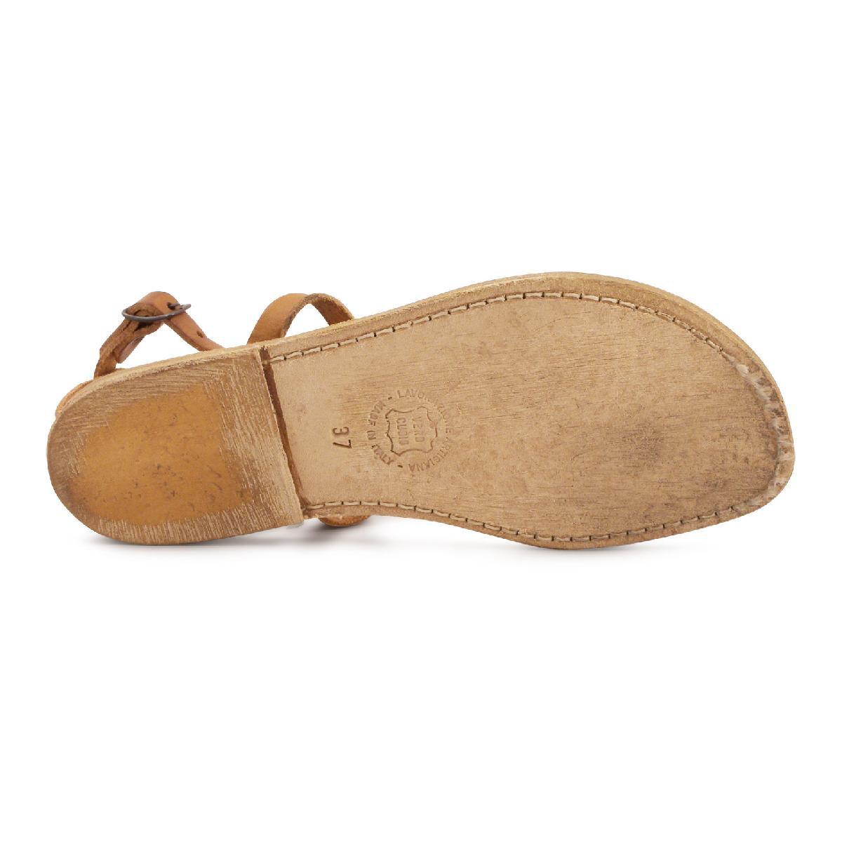 Sesto Meucci Gryta Woven Calf Leather Flat Sandal Details Sesto Meucci