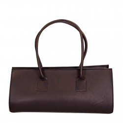 Braune Leder große Handtasche für damen Handgemacht
