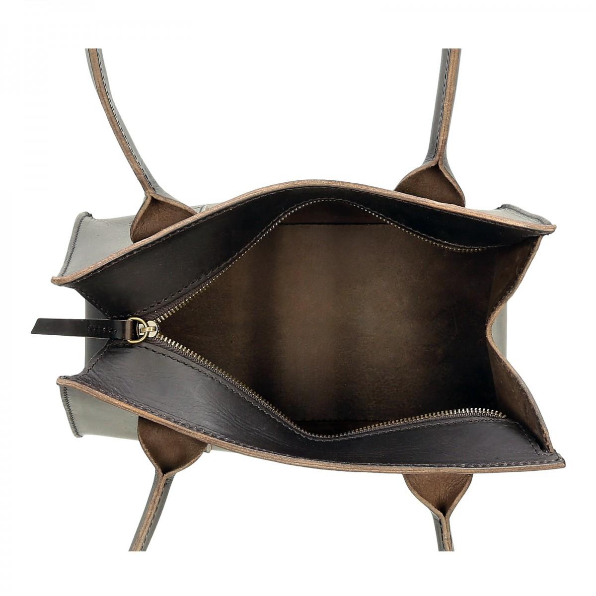 petit sac main en cuir marron artisanale pour femmes. Black Bedroom Furniture Sets. Home Design Ideas