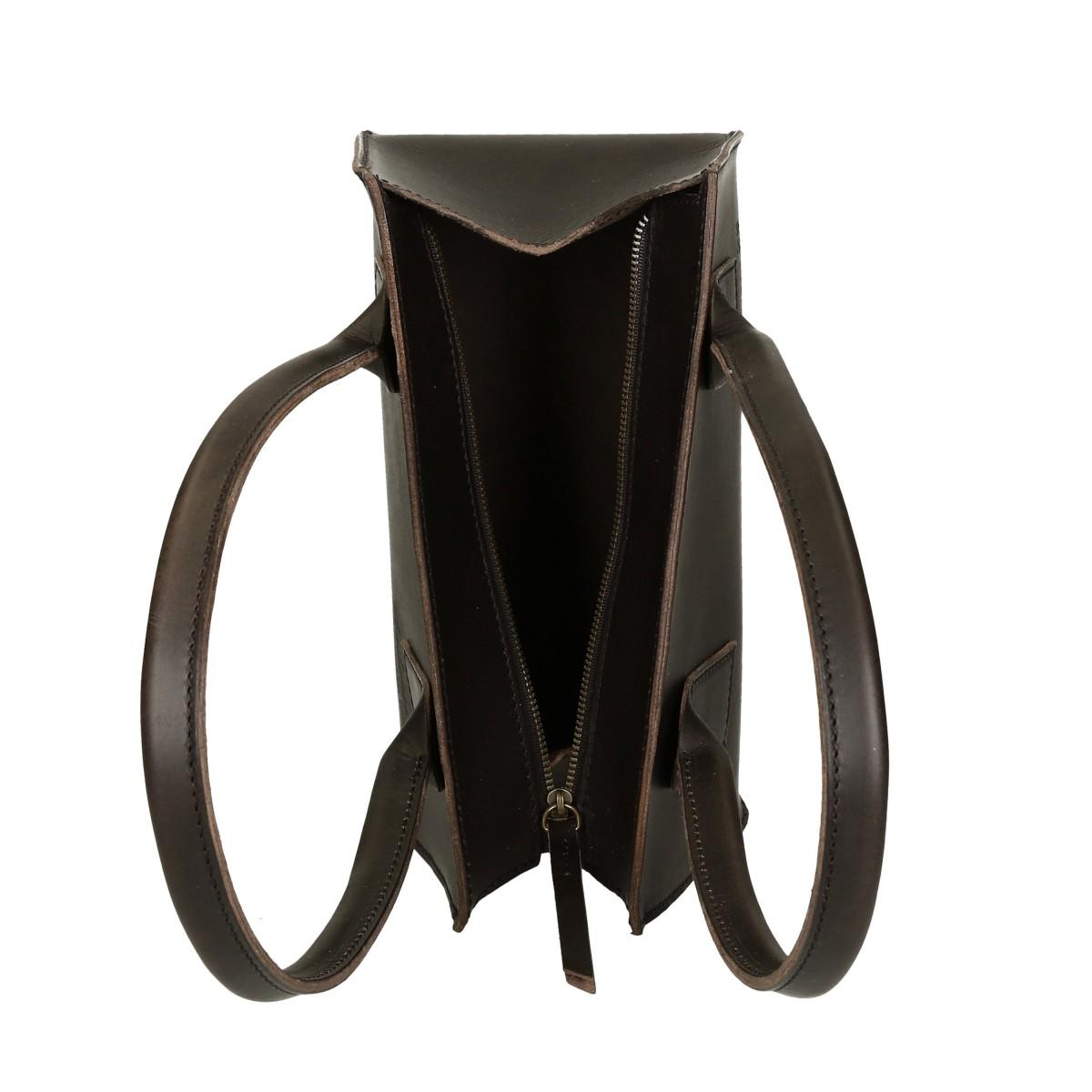 hand gefertigte kleine handtasche f r damen aus schwarzem leder gianluca das leder handwerker. Black Bedroom Furniture Sets. Home Design Ideas