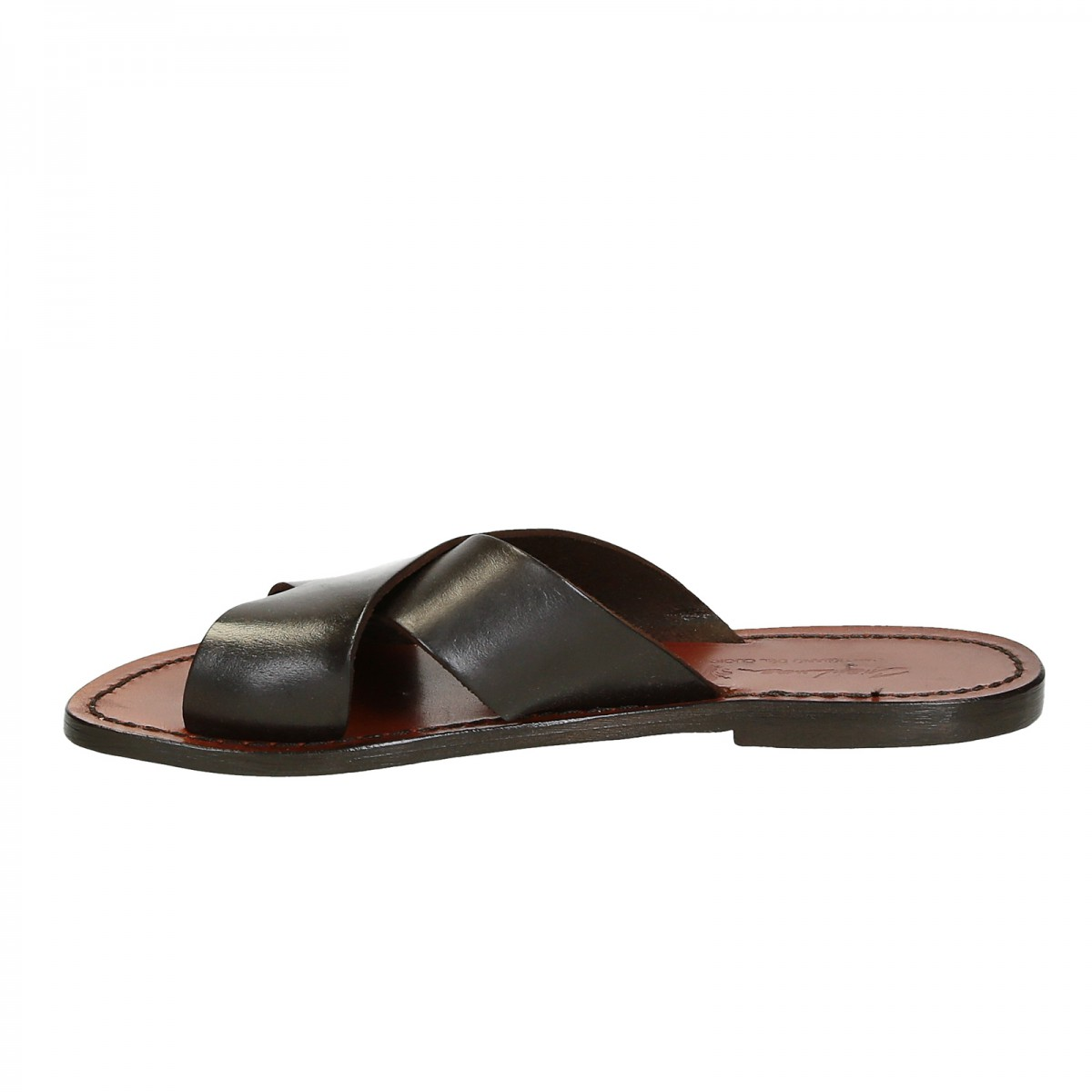 Creative Brown Leather Sandals For Women Amp Men Design 20 By WalkaholicS