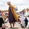 Sandalias Franciscanas de cuero Marrón de las mujeres