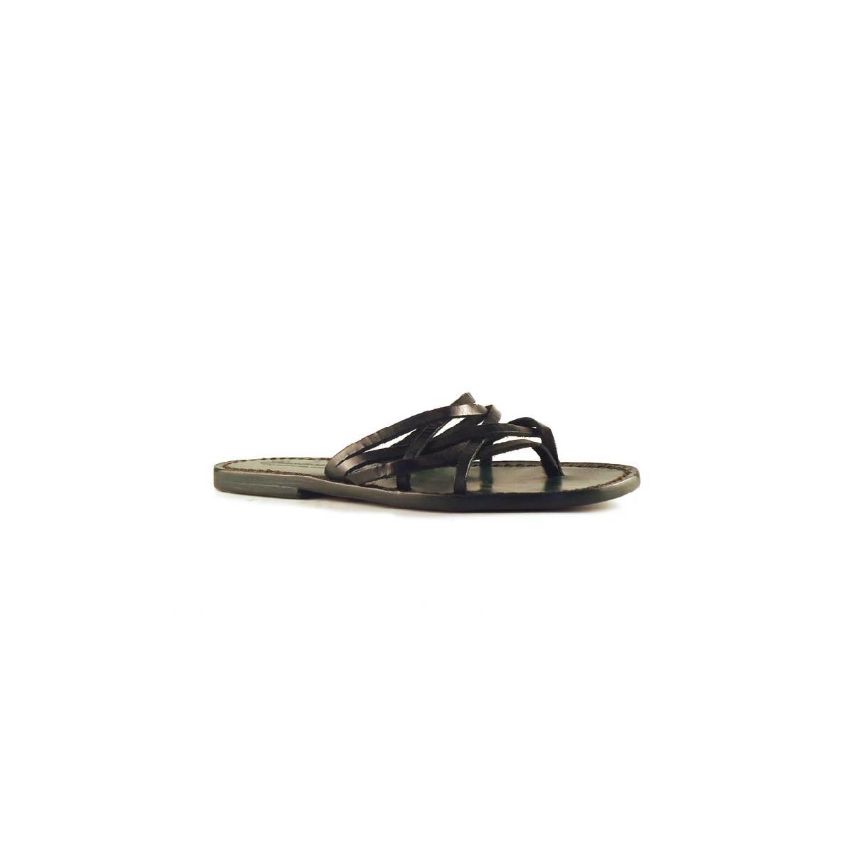 Perfect Josef Seibel Ilana Women Leather Green Slides Sandal Sandals