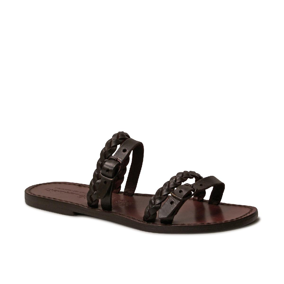 Cool Merrell Womenu2019s Buzz Leather Sandals In Black | Sneaker Cabinet
