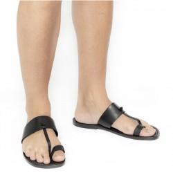 Sandalias de cuero hecho a mano en Italia