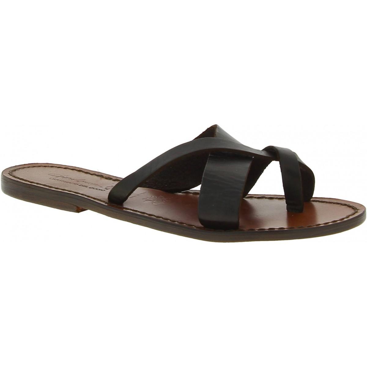 uk availability 17952 5f97c damen-riemchen-sandalen-aus-dunkelbraune-leder-in-italien-von-handgefertigt.jpg