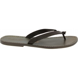 Handmade mud leather thongs sandals for men