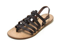 freetime dark brown sandals