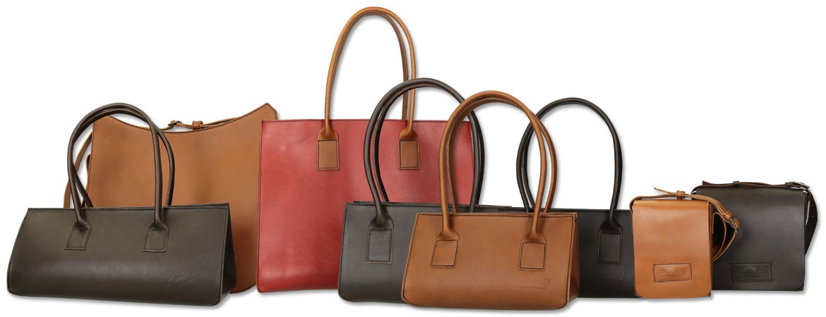 Bags in leather Handmade in Italy